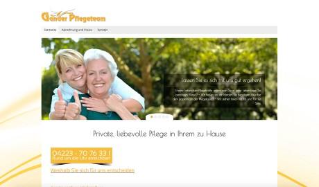 Homepage www.ganderpflege.de